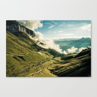wander Canvas Prints featuring Wander by StayWild