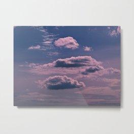 Clouds 09 Metal Print