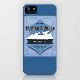 Full Sail Barge Ale iPhone Case