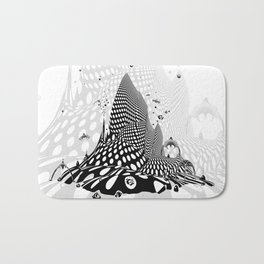 Space City Of The Future Bath Mat
