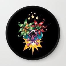 Tatouage de Mégane Wall Clock