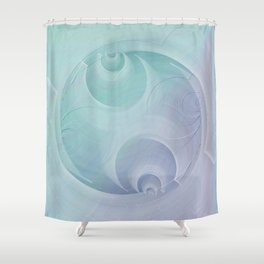 Abstract pastel no. 11 Shower Curtain