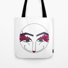 roundface darling Tote Bag