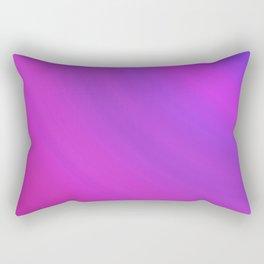 Purple & Blue Arcs | Bright gradient pattern Rectangular Pillow