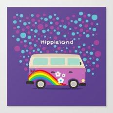 Hippie Land Canvas Print