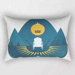 The Sun King Rectangular Pillow