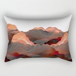 """""""Coral Mountains"""" Rectangular Pillow"""