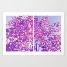 Autumnal Things Art Print