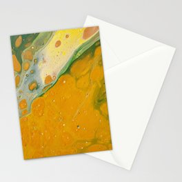 I love mustard Stationery Cards