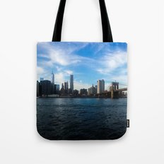 New York Skyline - Color Tote Bag