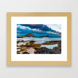 Makapuʻu Framed Art Print