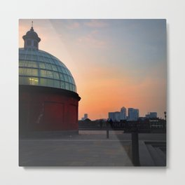 Greenwich Foot Tunnel Sunset Metal Print
