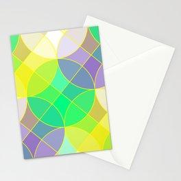 Elegant mosaic tile Stationery Cards