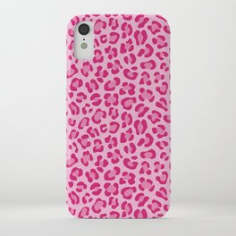 Leopard - Lilac and Pink iPhone Case