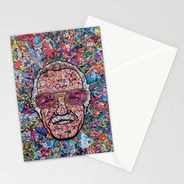 Stan Lee Mosaic Stationery Cards