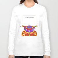 typewriter Long Sleeve T-shirts featuring Typewriter by Design4u Studio