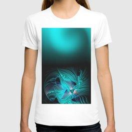 window curtain - fractal elegance -2- T-shirt
