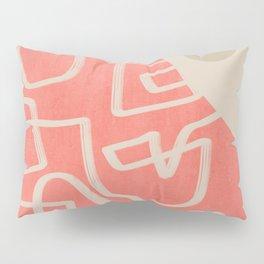 Line art improvisation 1 Pillow Sham