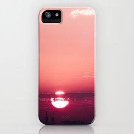 Dark Rose Dawn iPhone Case