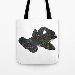 Dia De Los Shark: Hammerhead Tote Bag