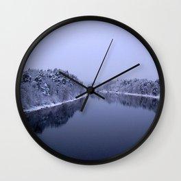 Österdal River Wall Clock