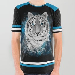 Tiger, don't stop...BE strong All Over Graphic Tee