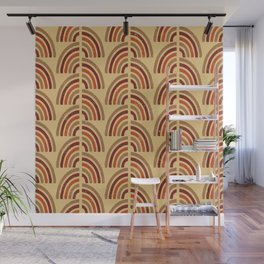 Rusty and sand. Abstract pattern Wall Mural