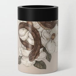 Snake and Magnolias Can Cooler