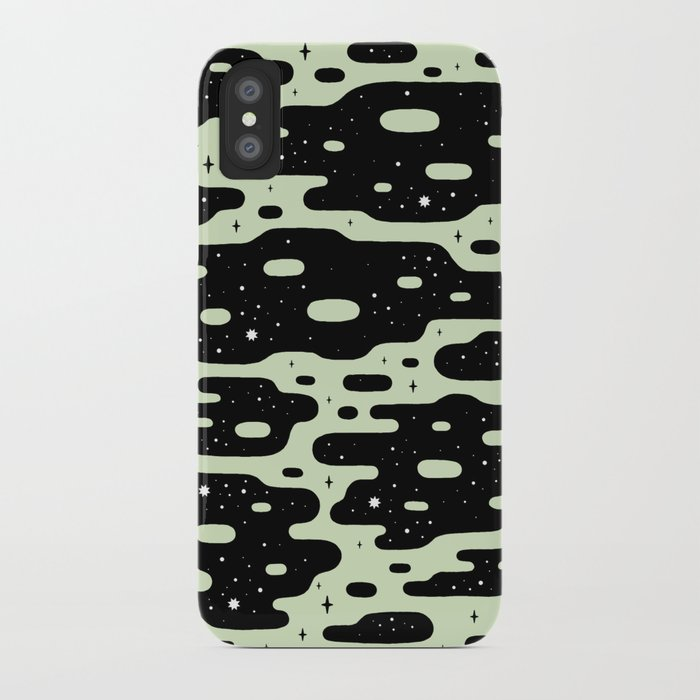 Space Blobs iPhone Case