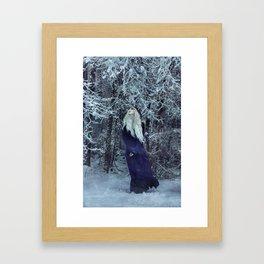 Soft, Silent, and Still Framed Art Print