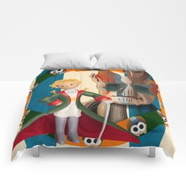 The Little Prince, Groot and owls  Comforters