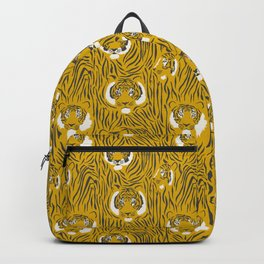 Tigers on Yellow Backpack