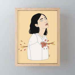 Love Struck Framed Mini Art Print