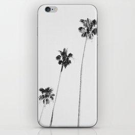 Black & White Palms iPhone Skin
