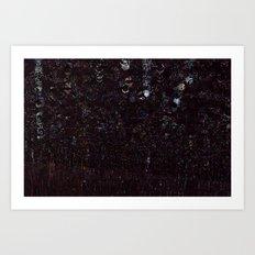 cosmic glitch Art Print