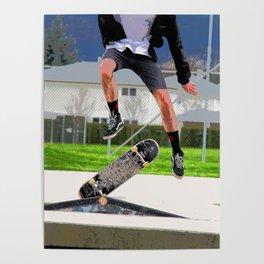 Missed Opportunity  - Skateboarder Poster