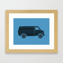 KITT Van Framed Art Print