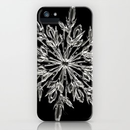 ice crystal iPhone Case