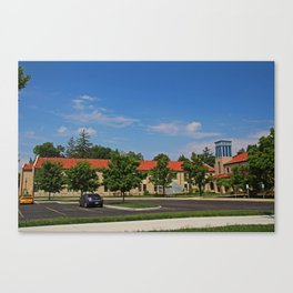Lourdes University-  Mother Adelaide Hall Canvas Print