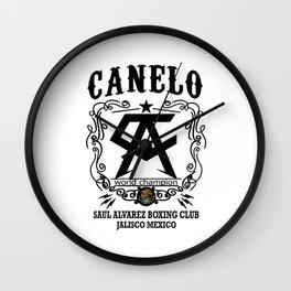 Canelo Mexico Wall Clock