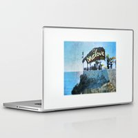 jamaica Laptop & iPad Skins featuring One Love… Jamaica by NisseDesigns