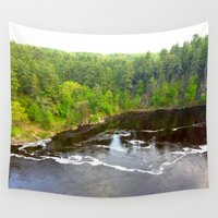 minnesota Wall Tapestries featuring Minnesota Daybreak by JayKay