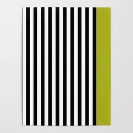 Liquorice allsorts, green Poster