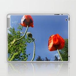 Poppy Friends Stretch to Sky in Haines, Alaska by Mandy Ramsey Laptop & iPad Skin