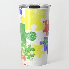Autism Pieces Travel Mug