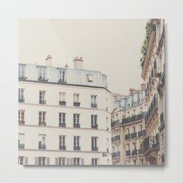 Paris architecture photograp Metal Print