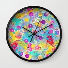 Big Bubbles | Original design by Mimi Bondi Wall Clock