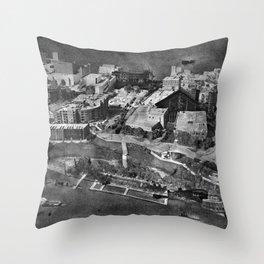 WINNIPEG DOCKS Throw Pillow