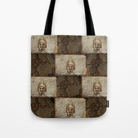 gladiator Tote Bags featuring Gladiator II by Alec Bancher