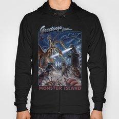 Godzilla Destroy all Monsters Monster Island Kaiju battle Hoody